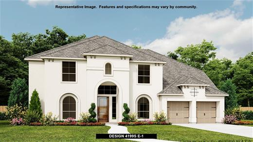 New Home Design, 4,199 sq. ft., 5 bed / 4.5 bath, 3-car garage