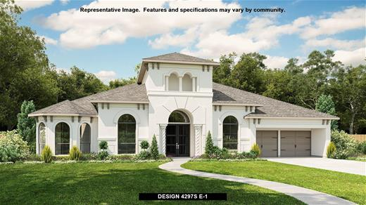 New Home Design, 4,297 sq. ft., 4 bed / 3.5 bath, 4-car garage