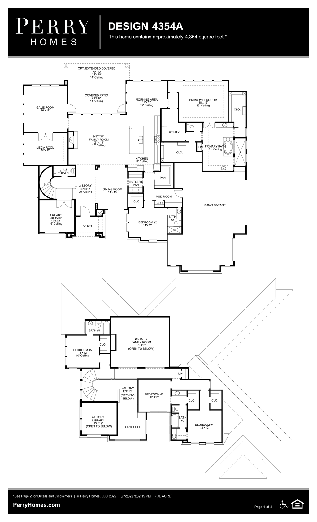 Floor Plan for 4354A