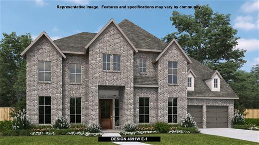 New Home Design, 4,891 sq. ft., 5 bed / 4.5 bath, 3-car garage