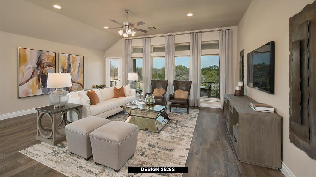 Model Home Design 2529S Interior