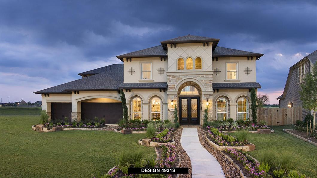 Cypress Creek Lakes 80'  From the $570s / 4,900 - 5,000   Sq. Ft.