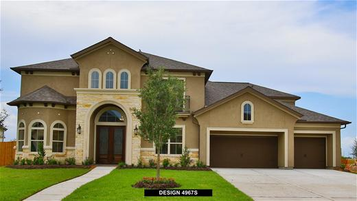 New Home Design, 4,967 sq. ft., 5 bed / 4.5 bath, 4-car garage