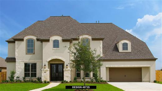 New Home Design, 4,973 sq. ft., 5 bed / 4.5 bath, 3-car garage