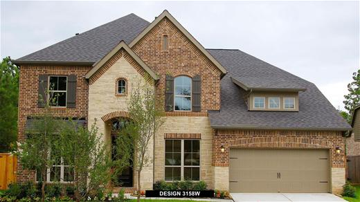 New Home Design, 3,158 sq. ft., 5 bed / 3.5 bath, 3-car garage
