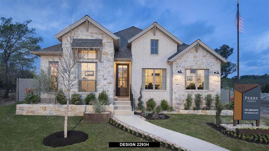 Model Home Design 2293H Exterior