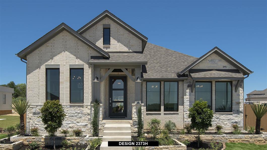 Model Home Design 2373H Interior