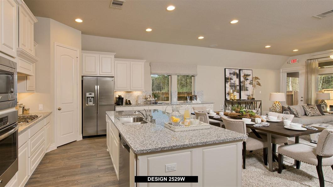 Model Home Design 2529W Interior
