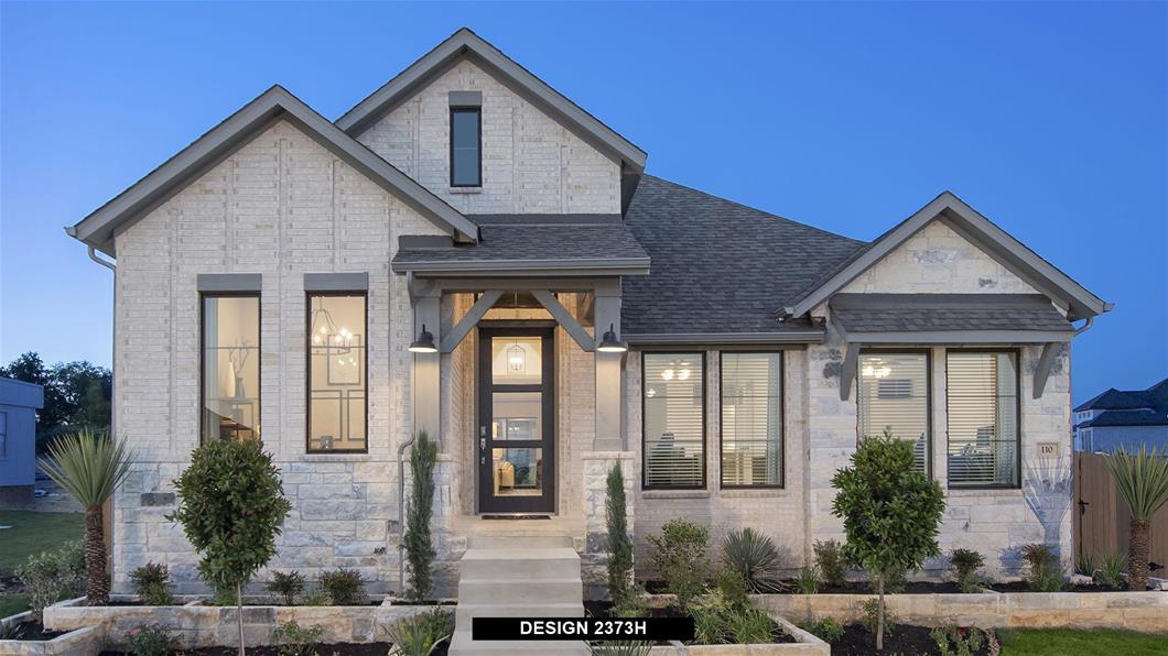 Model Home Design 2373H Exterior