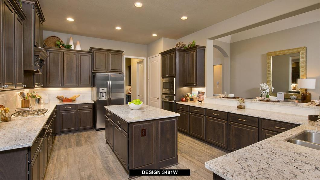 Model Home Design 3481W Interior