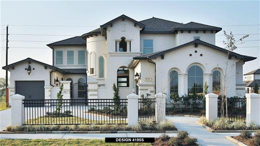 New Home Design, 4,195 sq. ft., 5 bed / 4.5 bath, 3-car garage