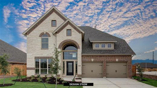 New Home Design, 2,782 sq. ft., 4 bed / 3.5 bath, 2-car garage