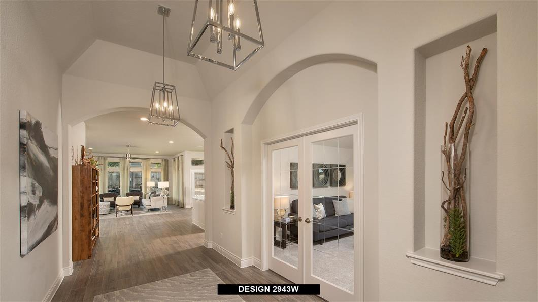 Model Home Design 2943W Interior