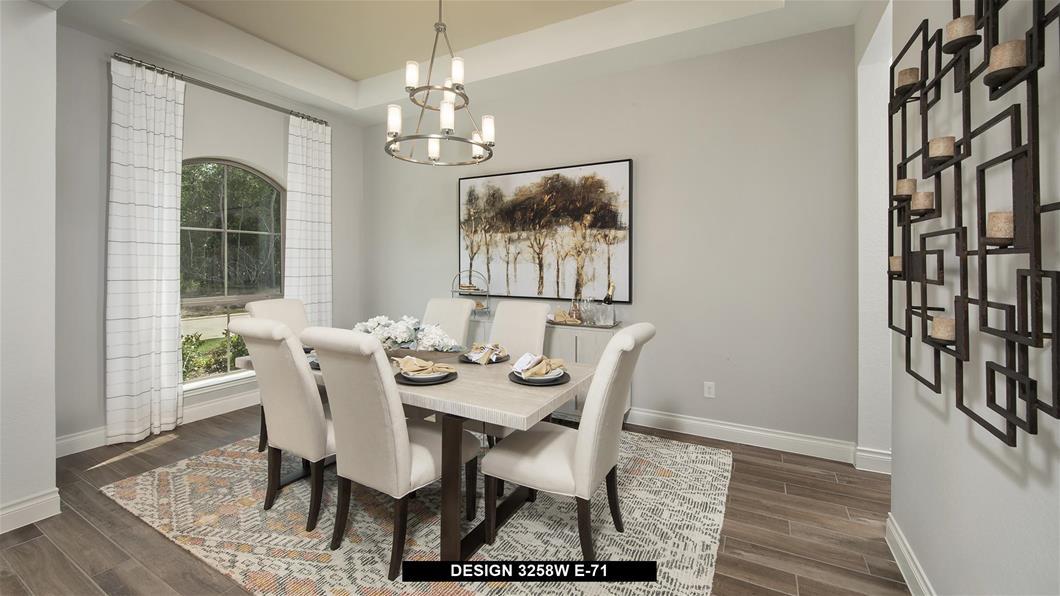 Model Home Design 3258W Interior