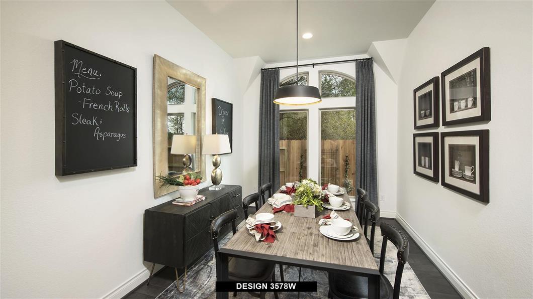 Model Home Design 3578W Interior
