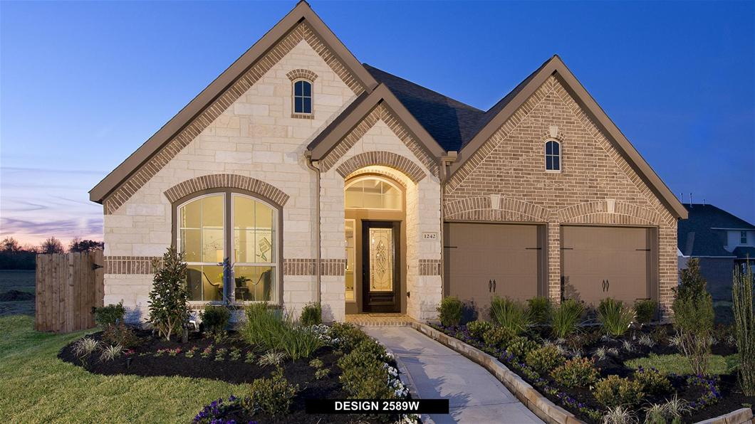 The Reserve at Brazos Town Center 50'  From the $260s / 1,800 - 3,500   Sq. Ft.