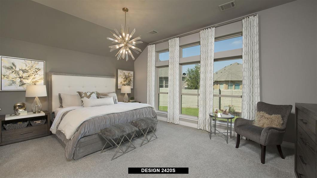Model Home Design 2420S Interior