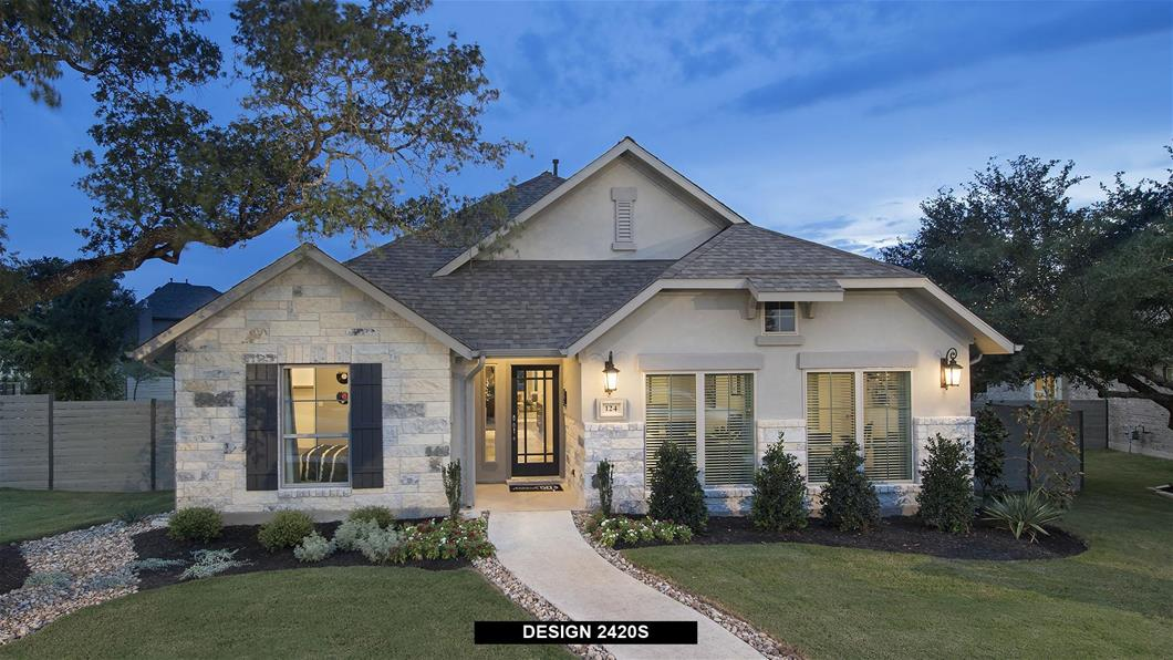 Wolf Ranch 51' | New Construction Homes For Sale | Perry Homes on wooden ranch gate designs, modern raised ranch house designs, ranch entry designs,