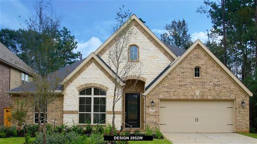 New Home Design, 2,952 sq. ft., 4 bed / 3.0 bath, 2-car garage