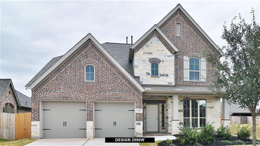 New Home Design, 2,598 sq. ft., 4 bed / 2.5 bath, 2-car garage