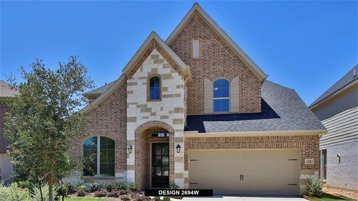 New Home Design, 2,973 sq. ft., 5 bed / 4.5 bath, 2-car garage