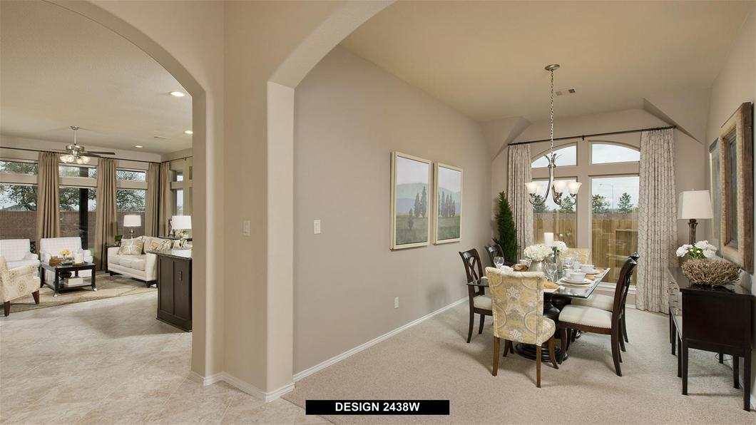 Model Home Design 2438W Interior