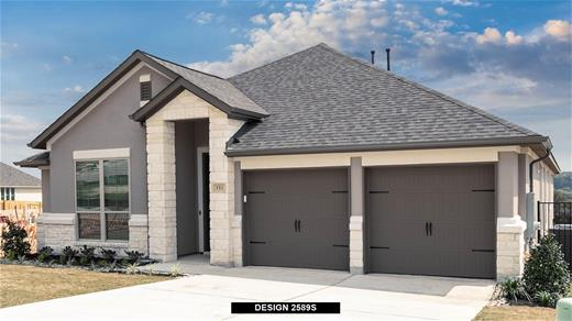 New Home Design, 2,589 sq. ft., 4 bed / 3.5 bath, 2-car garage