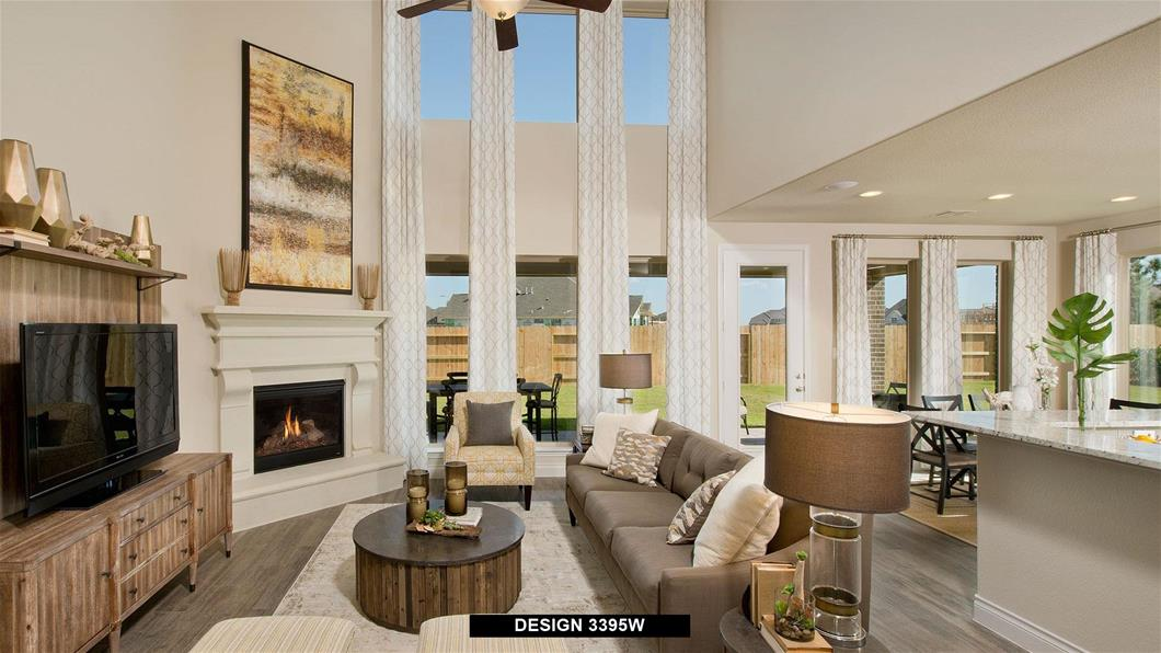 Model Home Design 3395W Interior