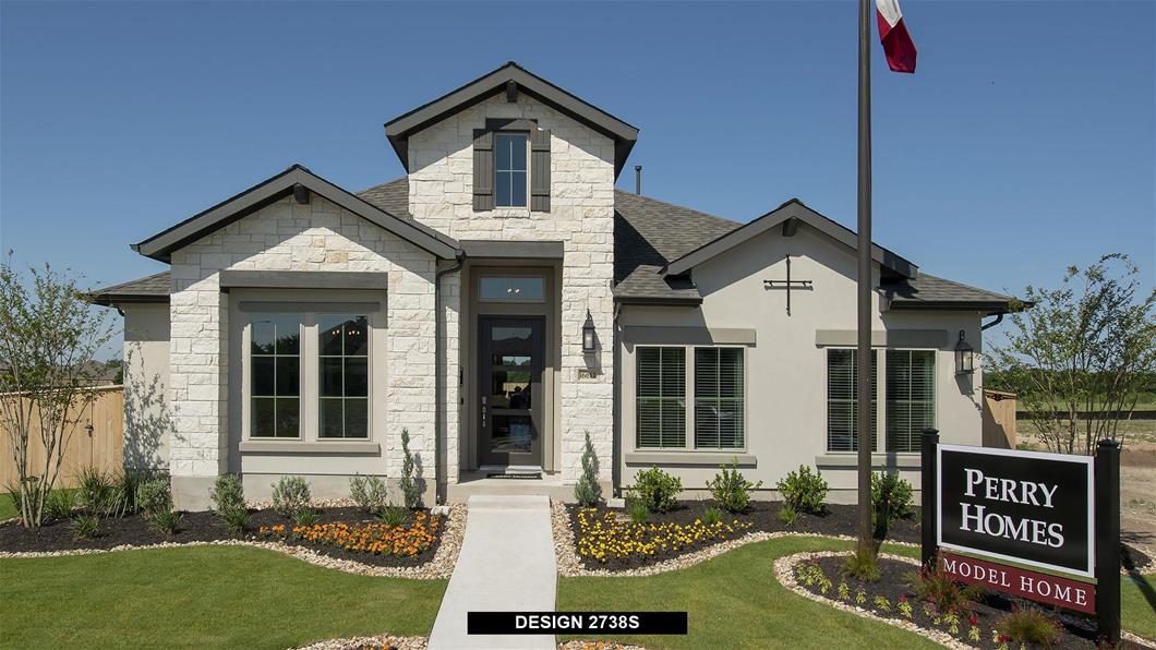 Model Home Design 2738S Interior