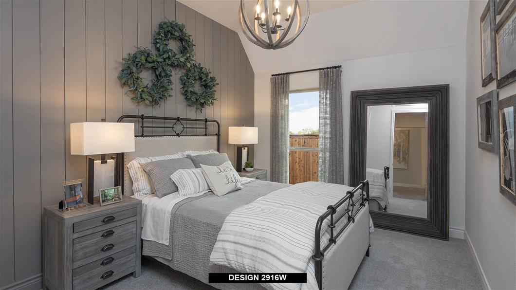 Model Home Design 2916W Interior