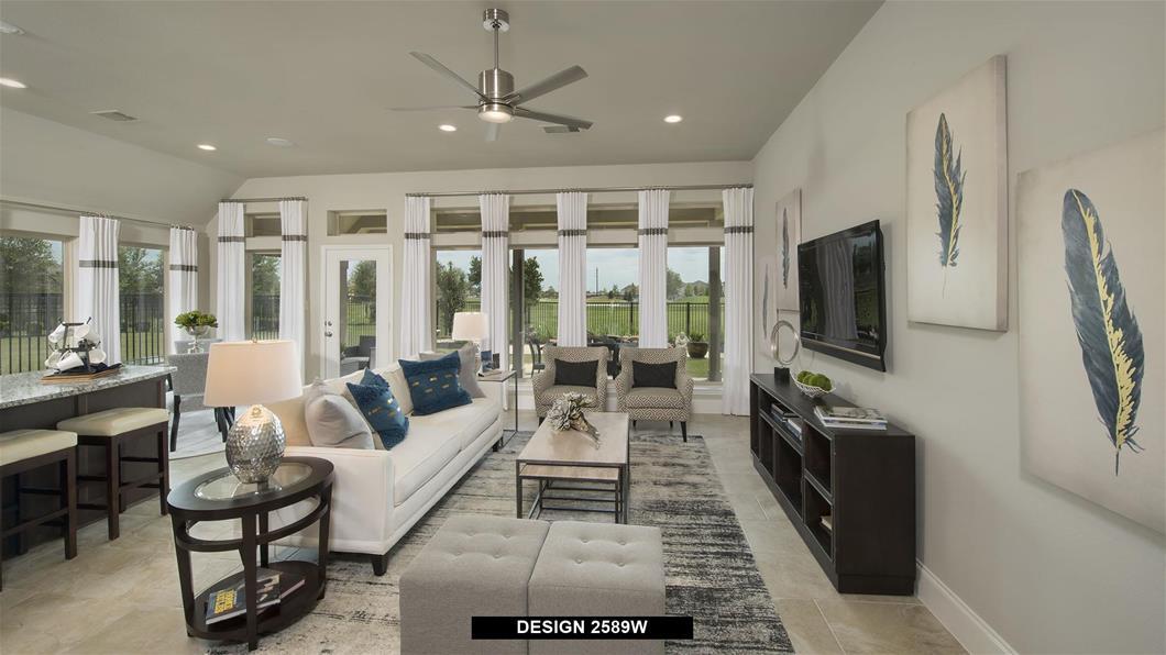 Model Home Design 2589W Interior
