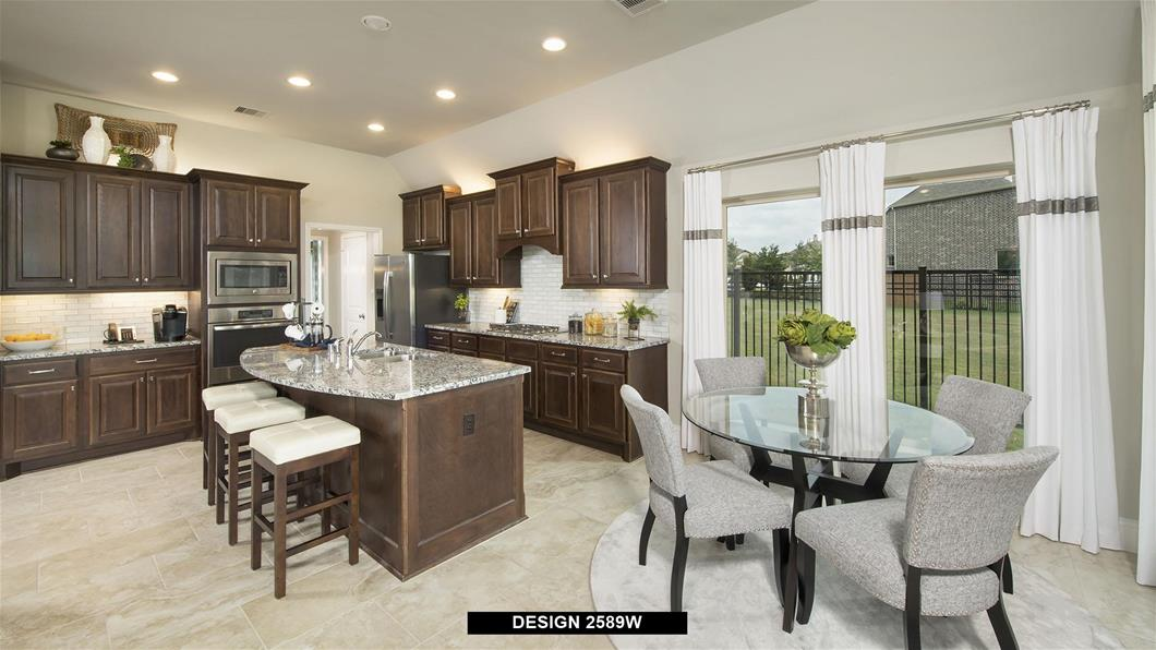 Model Home Design 2589W Interior