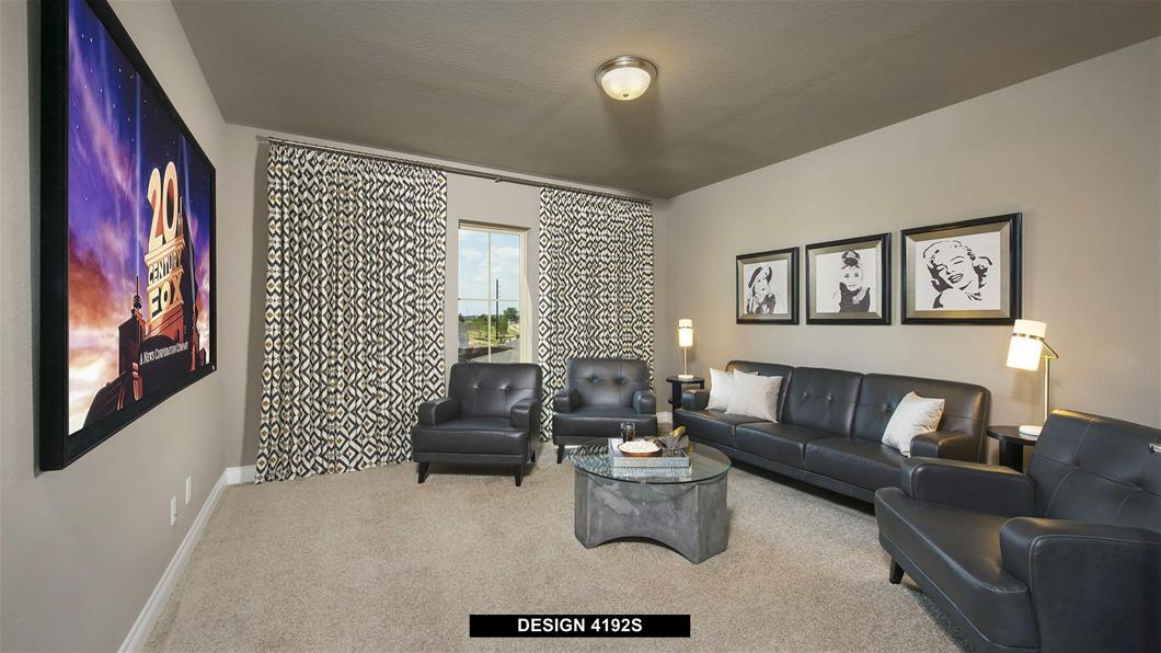 Model Home Design 4192S Interior