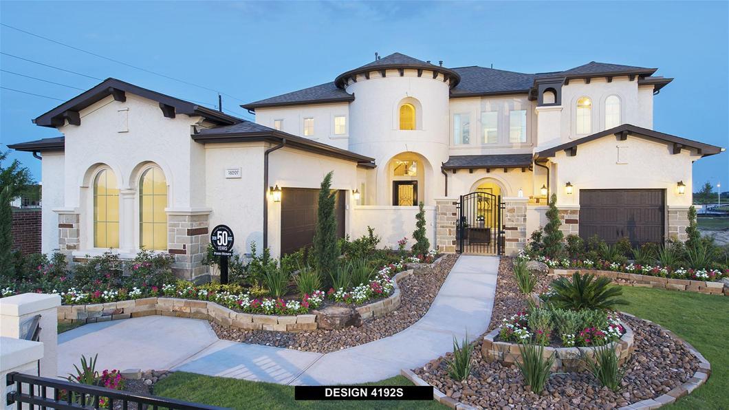 Model Home Design 4192S Exterior