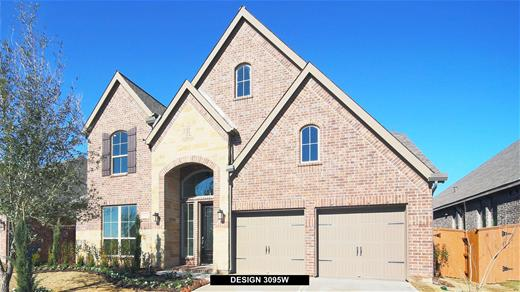 New Home Design, 3,351 sq. ft., 4 bed / 3.* bath, 3-car garage