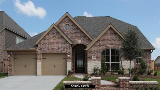 New Home Design, 3,090 sq. ft., 4 bed / 3.* bath, 2-car garage