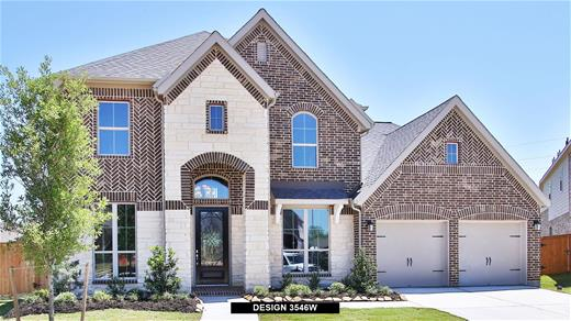 New Home Design, 3,546 sq. ft., 5 bed / 4.5 bath, 3-car garage