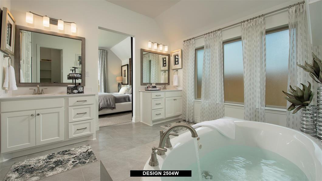 Model Home Design 2504W Interior