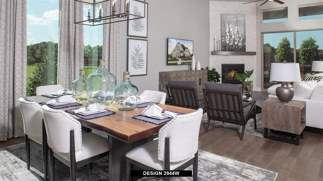 Model Home Design 2944W Interior
