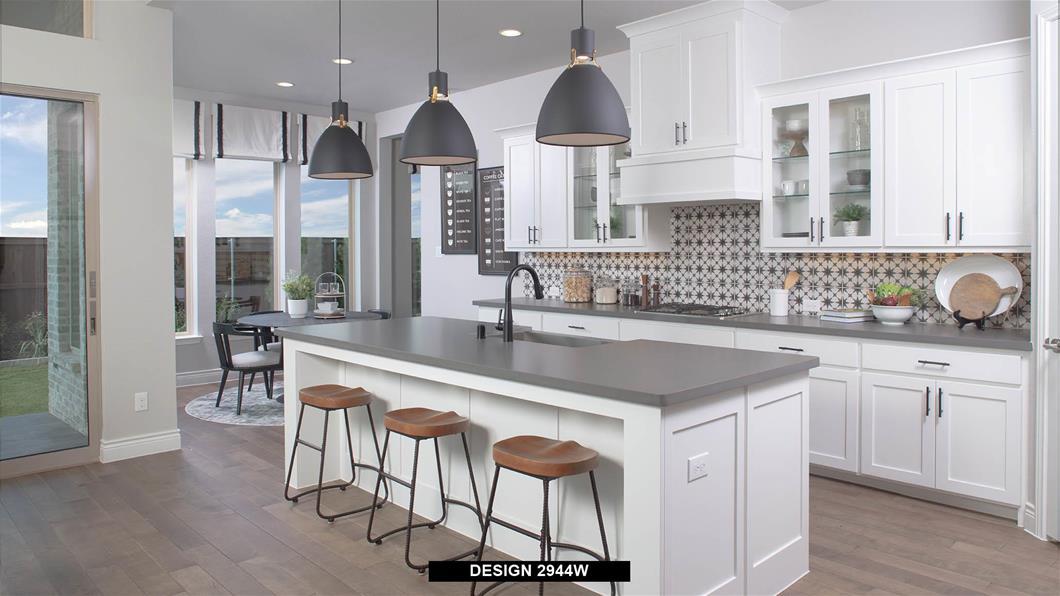 Model Home Design 2944W Interior