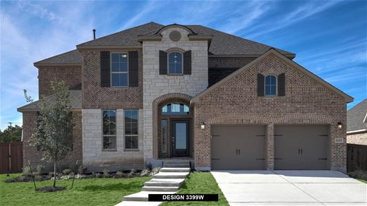 New Home Design, 3,399 sq. ft., 4 bed / 3.0 bath, 3-car garage