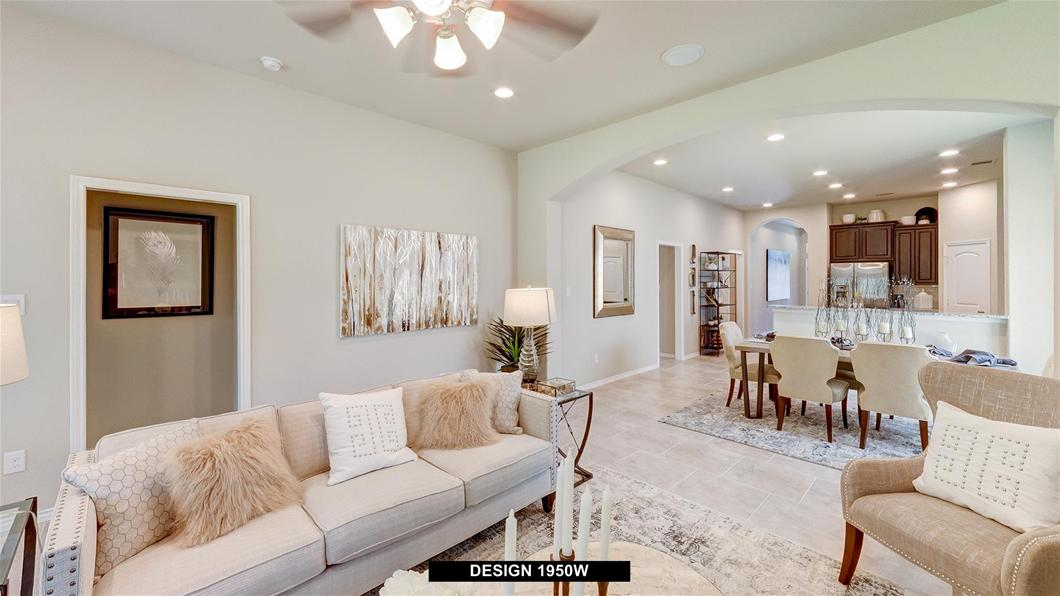New Homes For Sale | Woodforest 45\' | Perry Homes