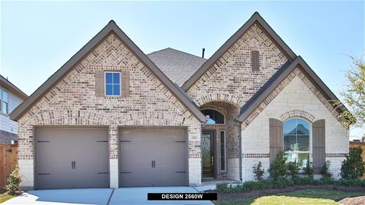 New Home Design, 2,560 sq. ft., 4 bed / 3.5 bath, 2-car garage