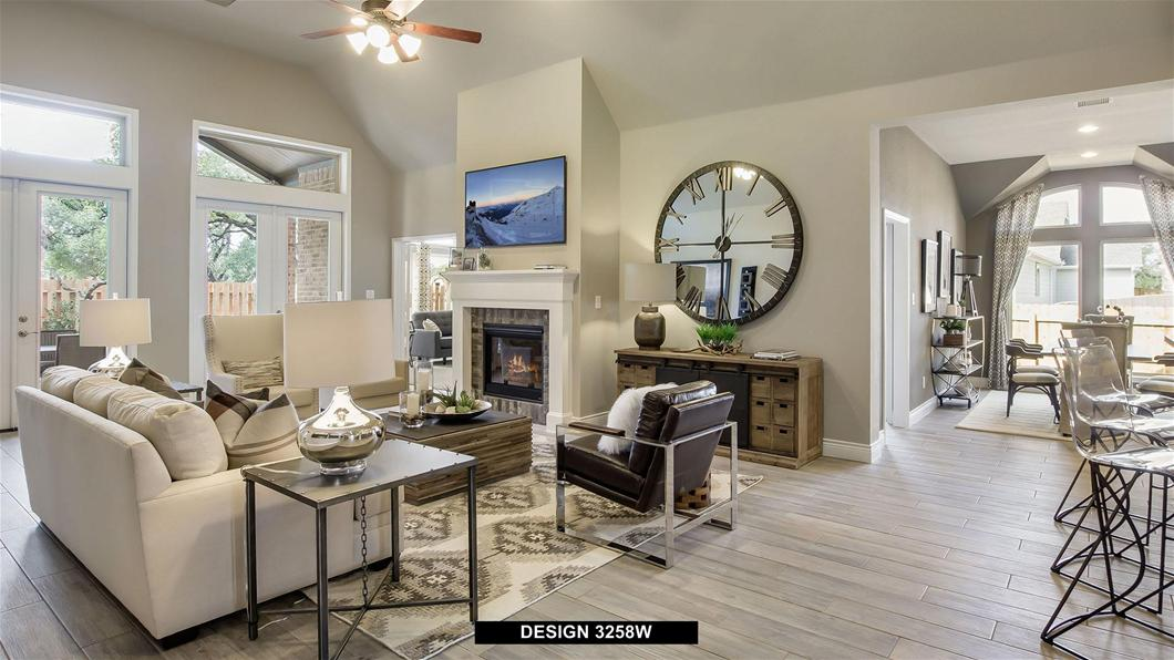 Model Home Design 3258W Interior