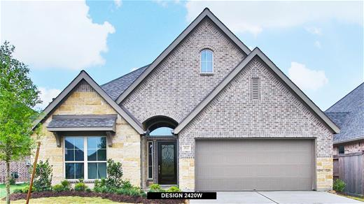 New Home Design, 2,420 sq. ft., 4 bed / 3.5 bath, 3-car garage