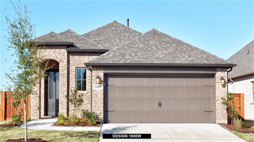 New Home Design, 1,500 sq. ft., 3 bed / 2.0 bath, 2-car garage