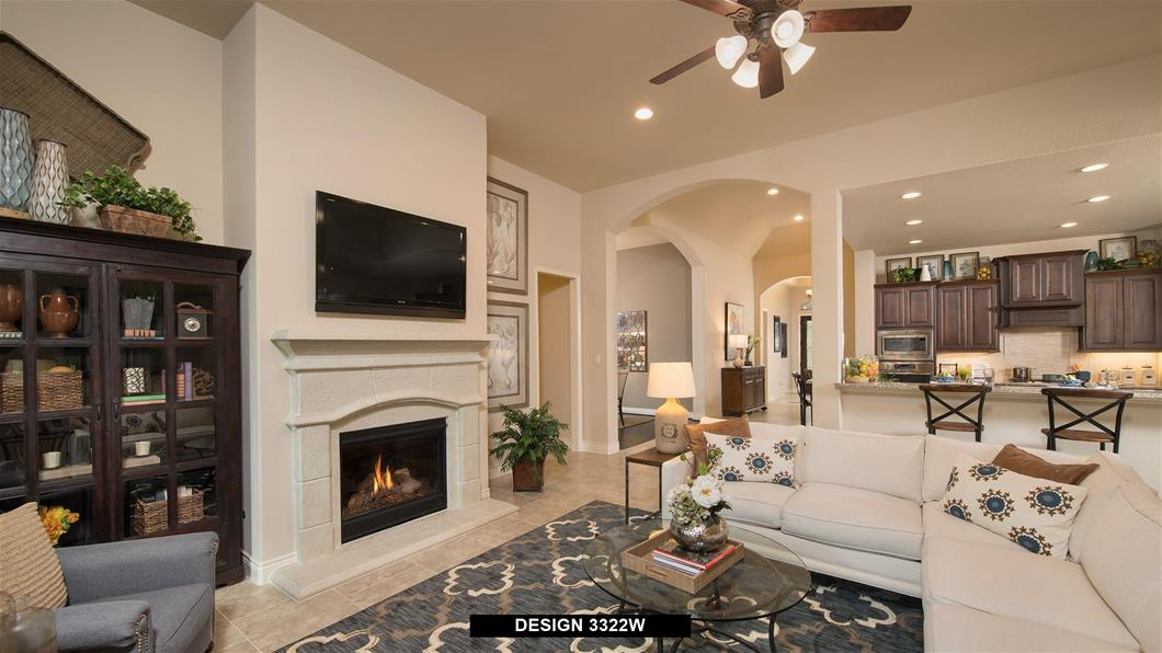 Model Home Design 3322W Interior
