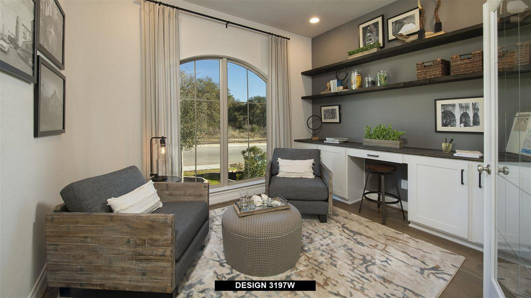 Model Home Design 3197W Interior