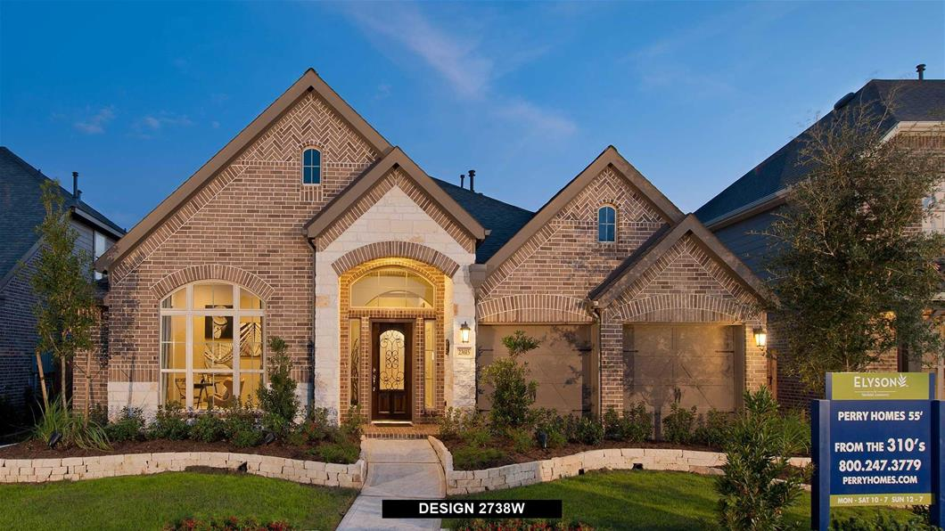 Elyson 55 39 New Construction Homes For Sale Perry Homes