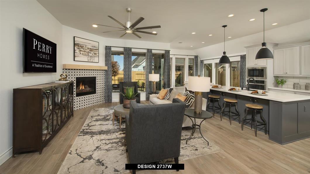 Model Home Design 2737W Interior